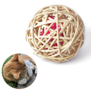 Rattan Ball Baldi-Ball For Cats