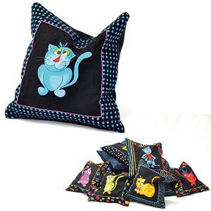 Cool Cats Cat Pillow
