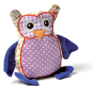 Owl Ulla Toy For Cats