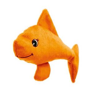 Welli-Fisch Spielkissen für Katzen - Orange