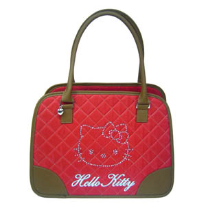 Hello Kitty Tragtasche Rot