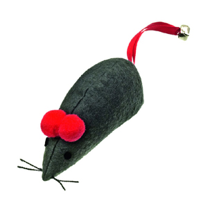 XXL Cat Toy Felt Mouse