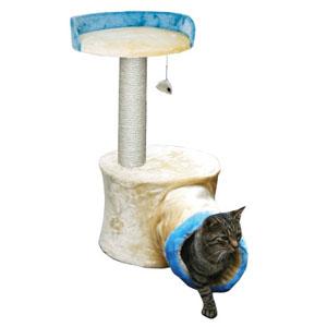 Cat Tree Calais Beige/Blue
