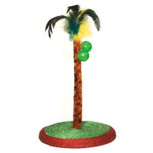 Palme auf Sisalboden