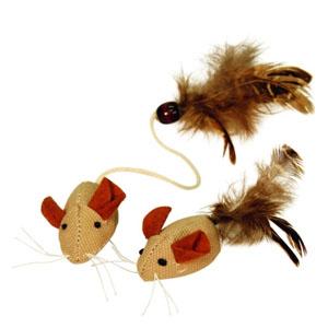 Natur Mäuse mit Federn