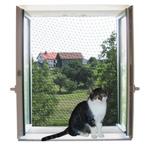 Katzenschutznetz mit Seil