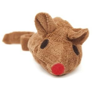 Baldi-Maus Spielkissen Braun