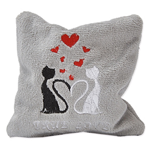Cat Pillow True Love Mini - 10 x 10 cm