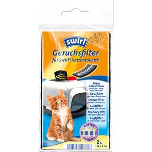 swirl - Aktivkohlefilter für Katzentoiletten