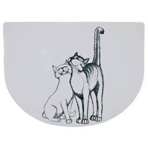 Katzennapf Unterlage Schmusekatze