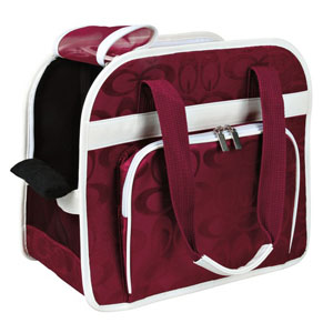 Bag Alisha - Bordeaux/Cream