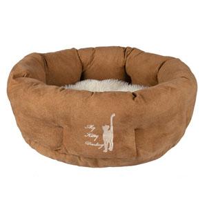 My Kitty Darling Cuddly Bed, Light Brown