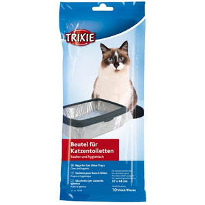 Bags For Cat Litter Trays, 37 x 48cm, 10 Pieces