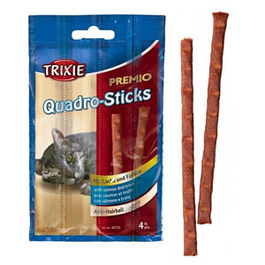 Premio Quadro-Sticks Anti-Hairball Lachs/Forelle