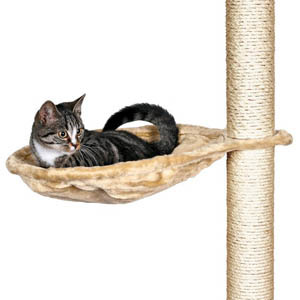 Nest For Scratching Posts - Beige