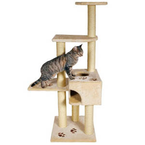 Alicante Scratching Post - Beige