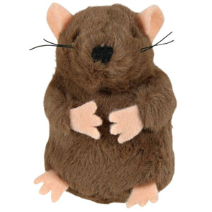 Plush Mole With Sound