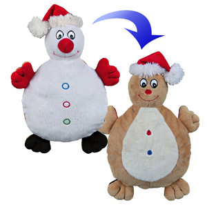X-Mas Turn-Toy Snowman-Gingerbread Man
