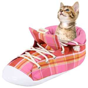 Riesiger Turnschuh für Katzen